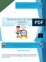 PRESENTACION DE DEONTOLOGIA