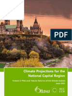 Climate Projections for the National Capital Region Volume 2 | City of Ottawa and NCC