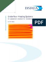 BSRIA - Underfloor Heating Guide