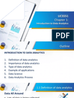 UCS551 Chapter 1 - Introduction to data analytics