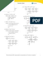 Edexcel IAL P2 Exercise 1D (Solution)