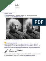 Albert Einstein - Biografia