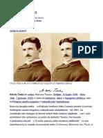 Nicola Tesla - Biografia