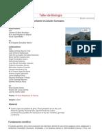 Taller de Biología. Evolución y adaptación al ambiente en árboles forestales.pdf