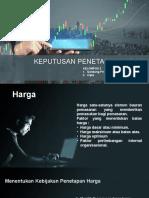 presentasi kebijakan harga
