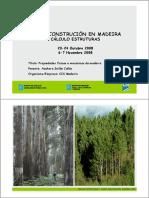 Curso Construción en Madeira Cálculo Estruturas