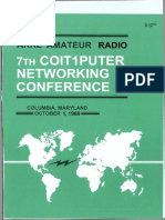 ARRL - Computer Networking Conference 7 ( 1988 )