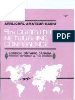ARRL - Computer Networking Conference 9 ( 1990 )