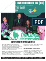 Unconditional Love for Children, Inc. Spring Newsletter, 2020
