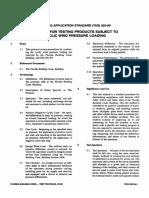 Testing Application Standard 203-94