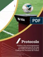 Protocolo Liga 1