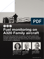 Fuel monitoring on A320-Fast