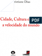 Escritos- Cidade, Cultura e corpo. Cristiane Dias