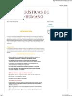 CARACTERISTICAS DE TALENTO HUMANO