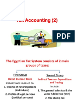 Tax Accounting- Dr Ahmed Sharaf- Lecture 1,2