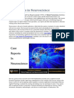 Case Reports in Neuroscience