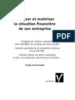 Analyser et maîtriser la situation financière de son entreprise - Vuibert.pdf