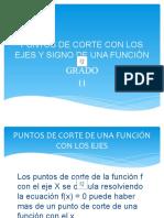 2. PUNTOS DE CORTE CON LOS EJES Y SIGNO grado 11 con sonido.pptx