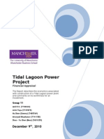 Tidal Project Report (Group 11)