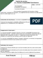 Contrat de service Exemple.ppt