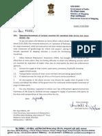 DGS Letter to CS Mharshtra_Mar 20