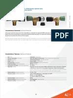 Valvula de Cilindro DFVR -  DFVR Cylinder Valve
