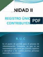 UNIDAD 3 - RUC