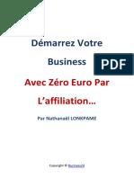 Démarre Votre Business Avec Zero Euro (1)