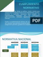 CUMPLIMIENTO NORMATIVO,legislacion.ppt