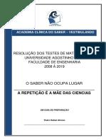 Teste Engenharia UAN(0)-2