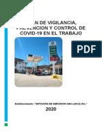 Plan Covid - San Luis - Chachapoyas
