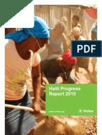 Haiti Progress Report 2010 En