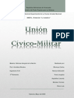 Unión cívico-Militar