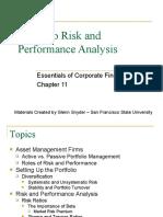 6 Portfolio Risk Performance Analysis