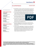 [Bank of America] Hybrid ARM MBS - Valuation and Risk Measures