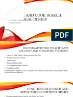 LO2-Prepare and cook starch and cereal dishes