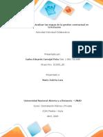 Fase 3.– Analizar las etapas de la gestión contractual en la licitación