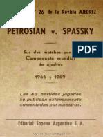 Petrosian v. Spassky, Matches 1966 y 1969 - 1969 Revista Ajedrez nº 26