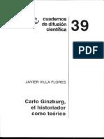 Carlo Ginzburg el historiador como teórico.pdf