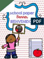 SchoolpaperbannerBienvenidos (1)