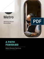 Metro Task Force Recovery Report June 2020