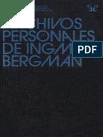 Los archivos personales de Ingmar Bergman