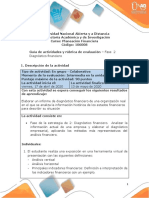 GUIA Fase 2 -Diagnóstico Financiero