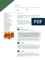 POLLO KENTUCKY - imagen principal - Consejos - comentario - 2010-11-07