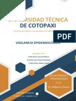 Informe vigilancia epidemiologica