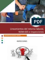 retorno laboral e inspecciones