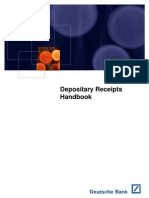 [Deutsche Bank] Depositary Receipts Handbook