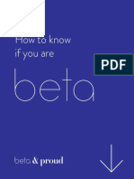 How to know if you are beta