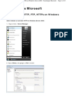 Servidor WEB SVR 2008