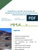 MRV de mitigación Chile